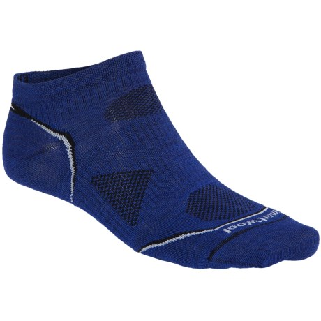 SmartWool PhD Multisport Micro Socks - Merino Wool, Lightweight (For Men) in Royal