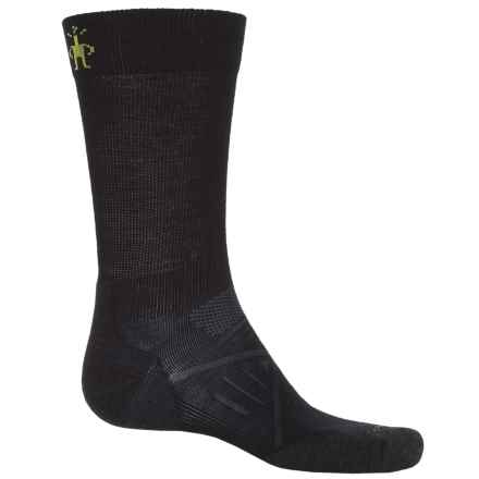 SmartWool PhD Nordic Light Elite Socks - Merino Wool, Crew (For Men) in Black - 2nds