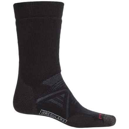 SmartWool PhD Nordic Medium Socks - Merino Wool, Over the Calf (For Men and Women) in Black - 2nds