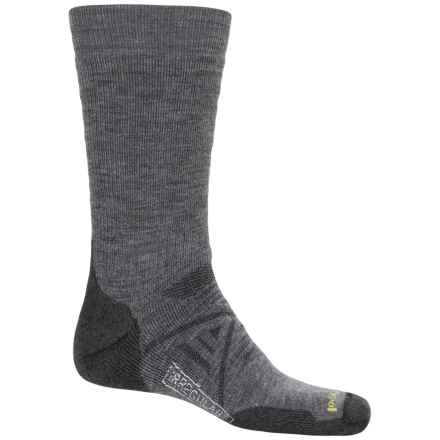 SmartWool PhD Nordic Medium Socks - Merino Wool, Over the Calf (For Men and Women) in Medium Gray - 2nds