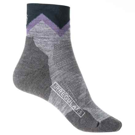 SmartWool PhD Outdoor Approach Socks - Merino Wool, Ankle (For Women) in Light Gray - 2nds