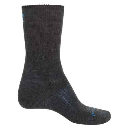 SmartWool PhD Outdoor Heavy Socks - Merino Wool, Crew (For Men) in Charcoal - 2nds