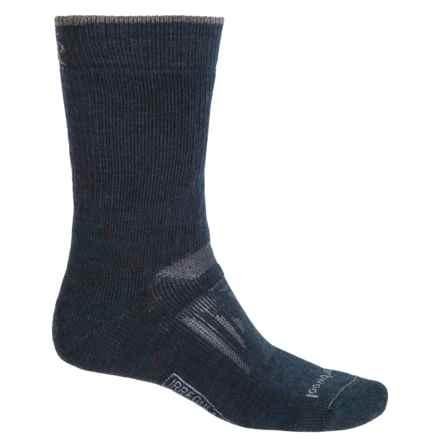 SmartWool PhD Outdoor Heavy Socks - Merino Wool, Crew (For Men) in Deep Navy - 2nds
