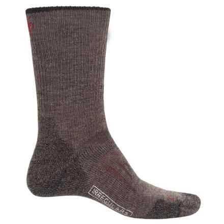 SmartWool PhD Outdoor Heavy Socks - Merino Wool, Crew (For Men) in Taupe - 2nds