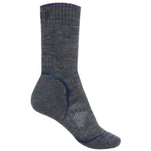 SmartWool PhD Outdoor Heavy Socks - Merino Wool, Crew (For Women) in Medium Gray - Closeouts