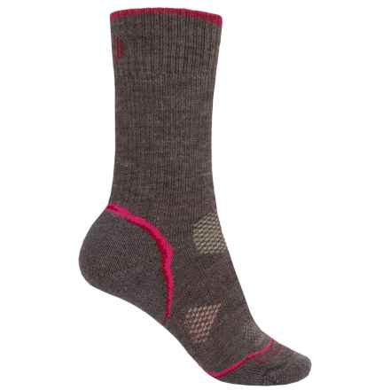 SmartWool PhD Outdoor Heavy Socks - Merino Wool, Crew (For Women) in Taupe - Closeouts