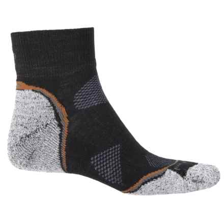SmartWool PhD Outdoor Light Hiking Socks - Merino Wool, Ankle (For Men and Women) in Black/Graphite - Closeouts
