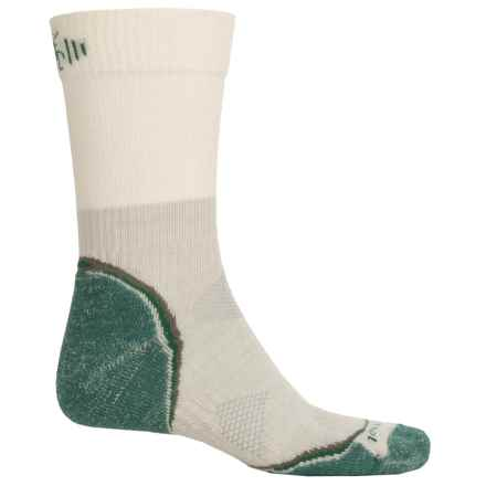 SmartWool PhD Outdoor Light Hiking Socks - Merino Wool, Crew (For Men and Women) in Alpine Green - Closeouts