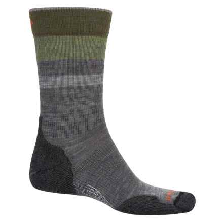 SmartWool PhD Outdoor Light Hiking Socks - Merino Wool, Crew (For Men and Women) in Medium Gray - 2nds
