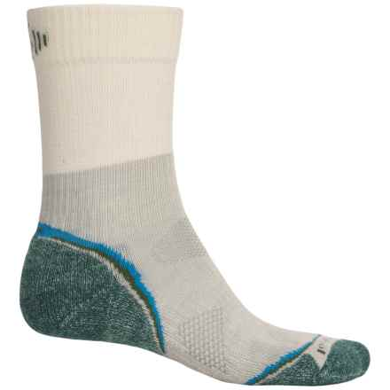 SmartWool PhD Outdoor Light Hiking Socks - Merino Wool, Crew (For Men and Women) in Sea Pine - Closeouts