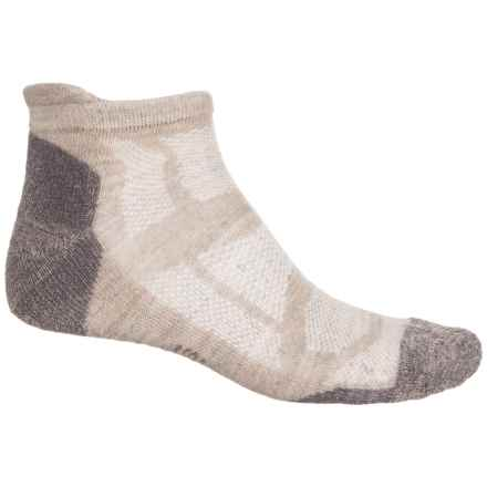 SmartWool PhD Outdoor Light Micro Socks - Merino Wool, Below the Ankle (For Men) in Oatmeal Heather - Closeouts