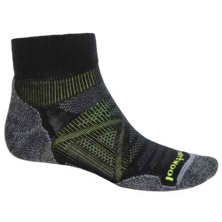 SmartWool PhD Outdoor Light Mini Socks - Merino Wool, Ankle (For Men and Women) in Black - 2nds
