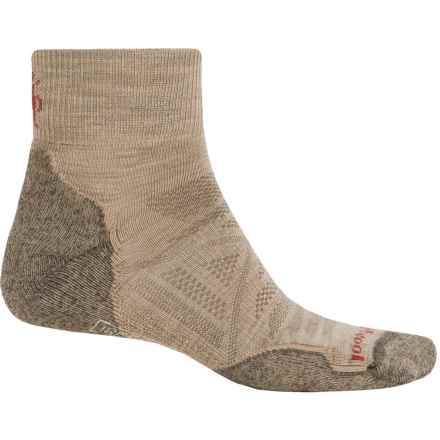 SmartWool PhD Outdoor Light Mini Socks - Merino Wool, Ankle (For Men and Women) in Oatmeal - 2nds