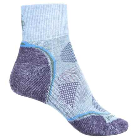SmartWool PhD Outdoor Light Mini Socks - Merino Wool, Ankle (For Women) in Clearwater - Closeouts