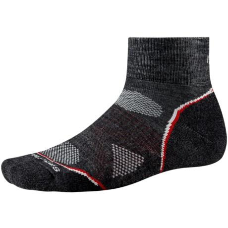 SmartWool PhD Outdoor Light Mini Socks - Merino Wool (For Men and Women) in Charcoal