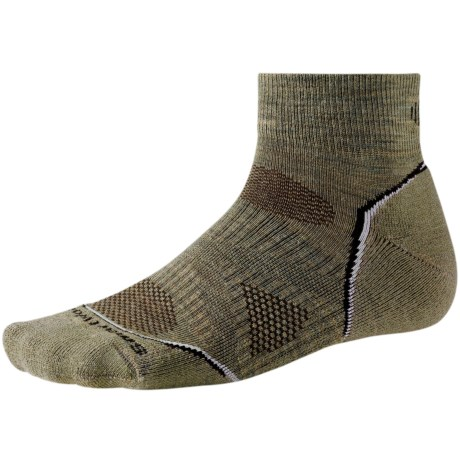 SmartWool PhD Outdoor Light Mini Socks - Merino Wool (For Men and Women) in Navy