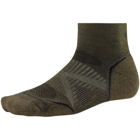 SmartWool PhD Outdoor Light Mini Socks - Merino Wool (For Men and Women) in Loden