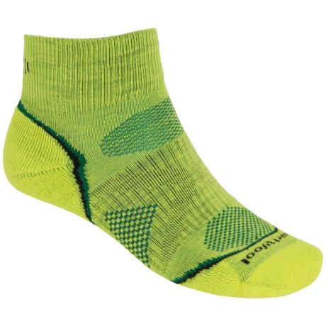 SmartWool PhD Outdoor Light Mini Socks - Merino Wool (For Men and Women) in Smartwool Green