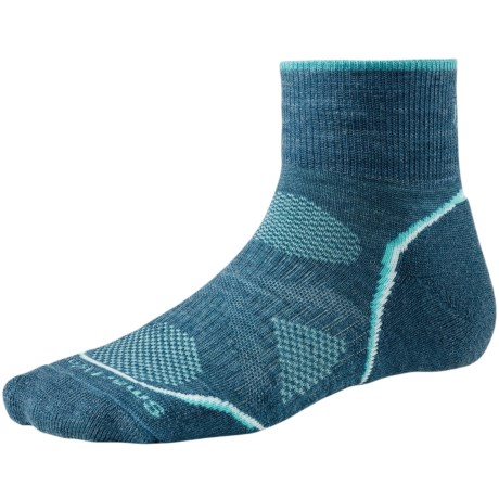SmartWool PhD Outdoor Light Mini Socks - Merino Wool (For Women) in Clearwater