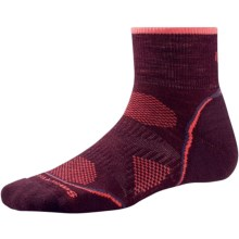 SmartWool PhD Outdoor Light Mini Socks - Merino Wool (For Women) in Aubergine - 2nds