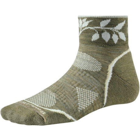 SmartWool PhD Outdoor Light Mini Socks - Merino Wool (For Women) in Chino