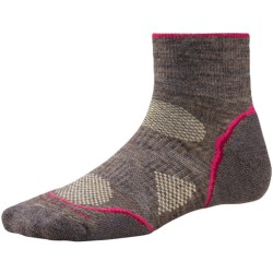 SmartWool PhD Outdoor Light Mini Socks - Merino Wool (For Women) in Taupe