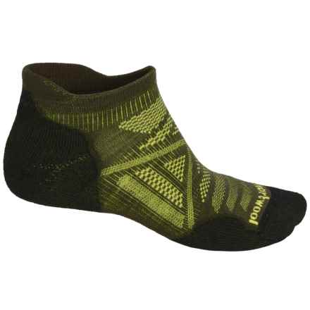 SmartWool PhD Outdoor Light Socks - Merino Wool, Below the Ankle (For Men and Women) in Loden - Closeouts