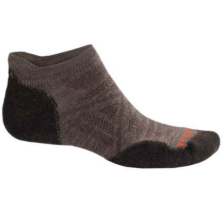 SmartWool PhD Outdoor Light Socks - Merino Wool, Below the Ankle (For Men) in Taupe/Chestnut - 2nds