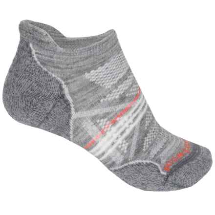 SmartWool PhD Outdoor Light Socks - Merino Wool, Below the Ankle (For Women) in Light Gray - 2nds