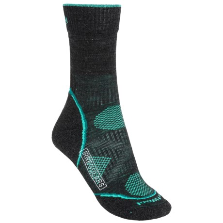 SmartWool PhD Outdoor Light Socks - Merino Wool, Crew (For Women) in Charcoal