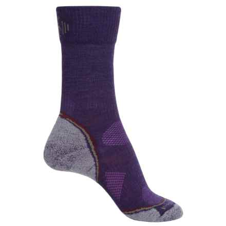 SmartWool PhD Outdoor Light Socks - Merino Wool, Crew (For Women) in Imperial Purple - Closeouts