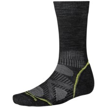 SmartWool PhD Outdoor Light Socks - Merino Wool, Lightweight, Crew (For Men and Women) in Black - 2nds