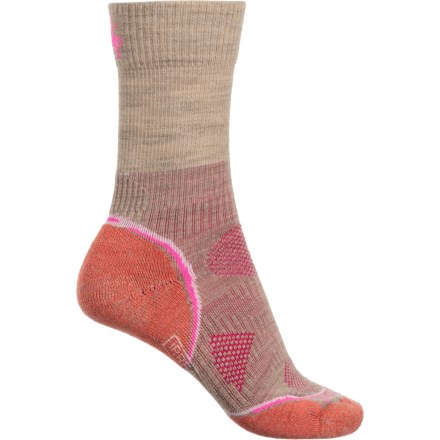 e48d20fc4 SmartWool PhD Outdoor Lightweight Socks - Merino Wool, Crew (For Women) in  Taupe