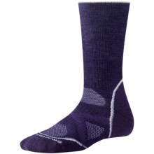 SmartWool PhD Outdoor Medium Crew Socks - Merino Wool, Midweight (For Women) in Imperial Purple - 2nds