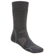 SmartWool PhD Outdoor Medium Socks - Merino Wool (For Men and Women) in Charcoal/Steel - 2nds