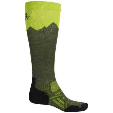 SmartWool PhD Outdoor Mountaineer Socks - Merino Wool, Over the Calf (For Men and Women) in Loden - Closeouts