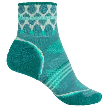 Smartwool PhD Outdoor Pattern Mini Socks - Merino Wool, Ankle (For Women) in Canton - 2nds