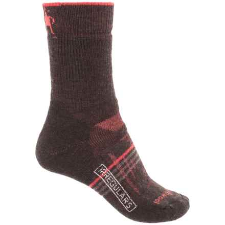 SmartWool PhD Outdoor Socks - Merino Wool, Crew (For Women) in Chestnut - 2nds