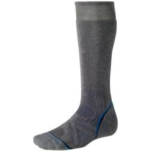 SmartWool PhD Outdoor Socks - Merino Wool, Heavyweight, Over-the-Calf (For Men and Women) in Graphite - 2nds