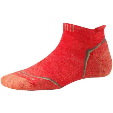 SmartWool PhD Outdoor Sport Socks - Merino Wool, Ankle (For Women) in Hibiscus - Closeouts
