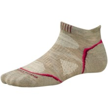 SmartWool PhD Outdoor Sport Socks - Merino Wool, Below the Ankle (For Women) in Oatmeal - Closeouts
