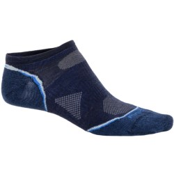SmartWool PhD Outdoor Ultralight Micro Socks - Merino Wool, Below-the-Ankle (For Men and Women) in Navy