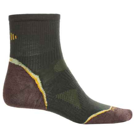 SmartWool PhD Outdoor Ultralight Socks -Merino Wool, 3/4 Crew (For Men and Women) in Forest - Closeouts