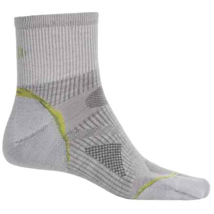 SmartWool PhD Outdoor Ultralight Socks -Merino Wool, 3/4 Crew (For Men and Women) in Silver - Closeouts