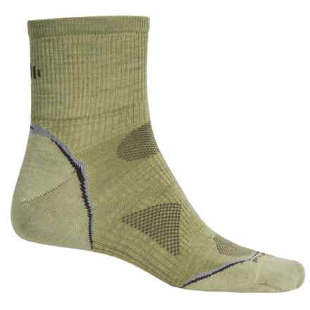 SmartWool PhD Outdoor Ultralight Socks -Merino Wool, Ankle (For Men and Women) in Citron - Closeouts