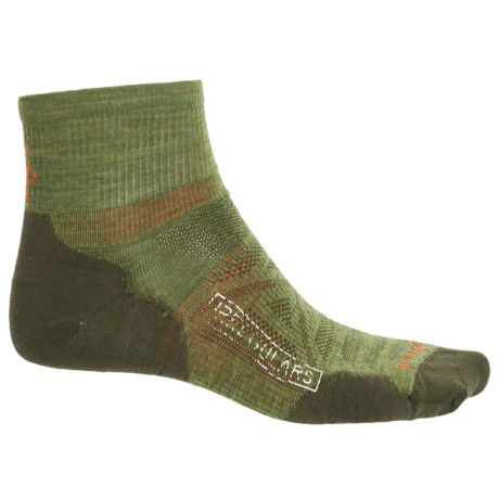 SmartWool PhD Outdoor Ultralight Socks - Merino Wool, Ankle (For Men and Women) in Light Loden
