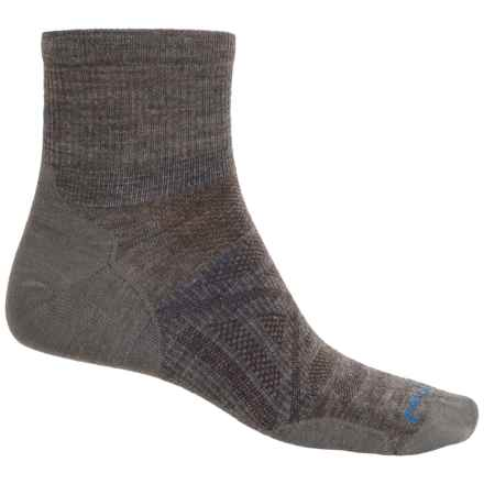 SmartWool PhD Outdoor Ultralight Socks - Merino Wool, Ankle (For Men and Women) in Taupe - Closeouts