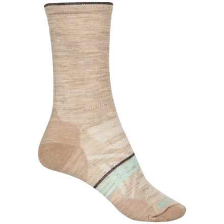 SmartWool PhD Outdoor Ultralight Socks - Merino Wool, Crew (For Women) in Oatmeal - Closeouts