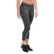 SmartWool PhD Printed Capris - Merino Wool (For Women) in Charcoal/Black - Closeouts