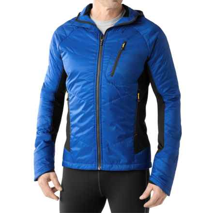 SmartWool PhD Propulsion 60 Hoodie - Merino Wool, Insulated (For Men) in Bright Blue - Closeouts